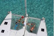Crociera in catamarano a Tobago cays, isole Grenadine