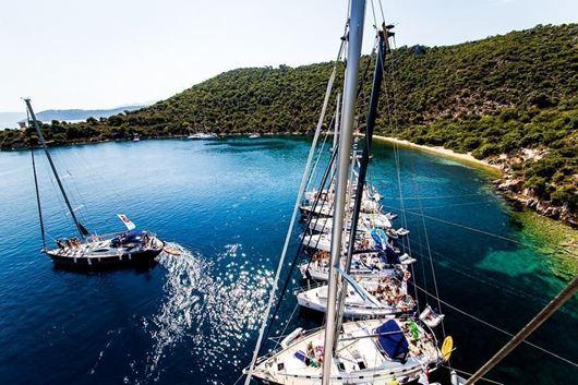 Crociera in barca a vela alle isole Sporadi agosto 2020