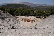 Epidauros antico teatro Flottiglia Cicladi occidentale e golfo del Saronico