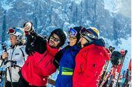 Ponte dell'Immacolata sulla neve in Alta Badia - vacanza di gruppo