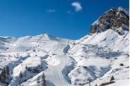 Ponte dell'Immacolata sulla neve in Alta Badia -  Corvara Trentino-Alto Adige