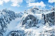 Ponte dell'Immacolata sulla neve in Alta Badia  Corvara Trentino-Alto Adige